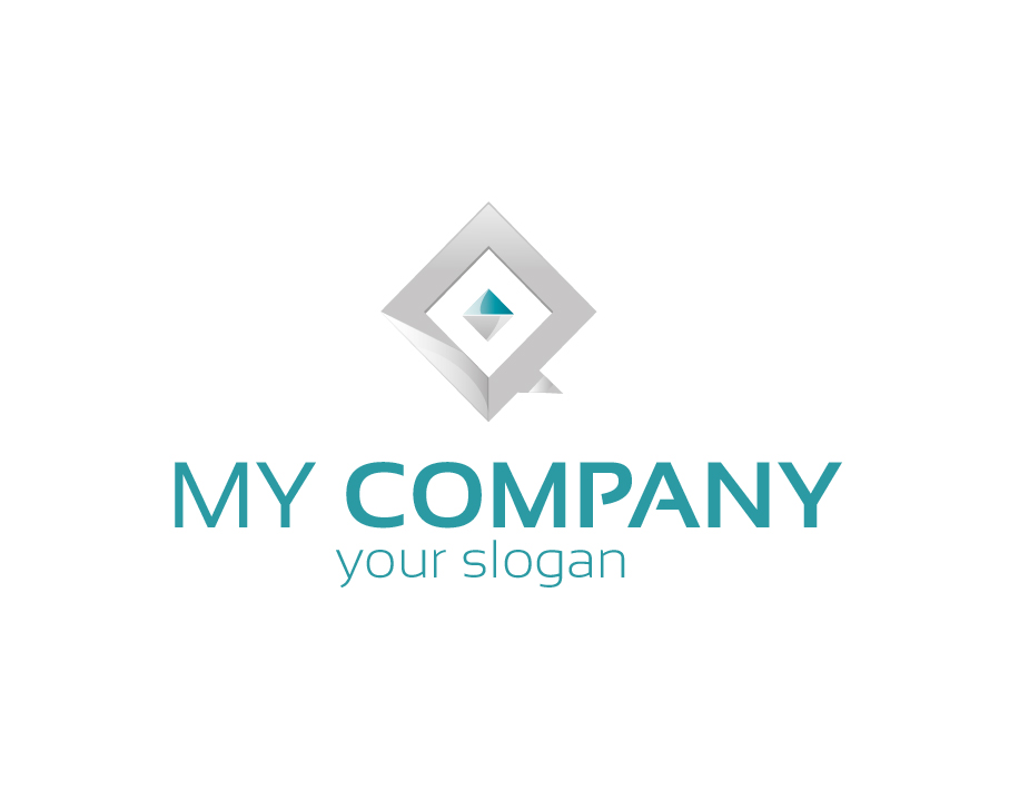 My Company Logo – Abstract Diamond