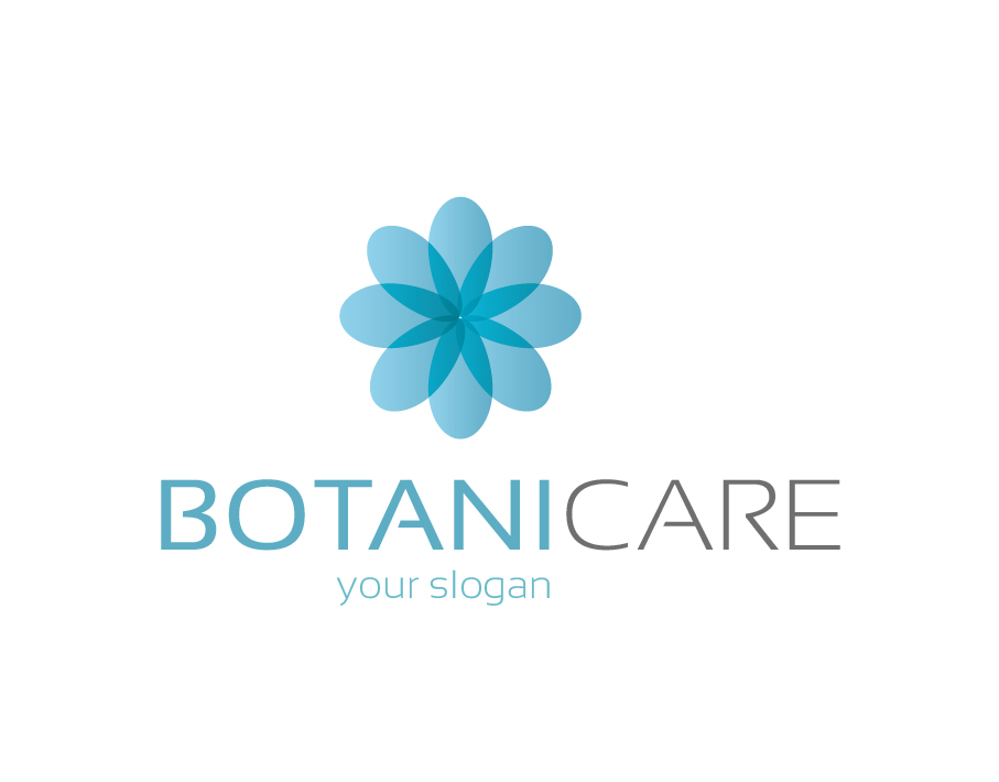 Botanicare Logo with Blue Flower Icon