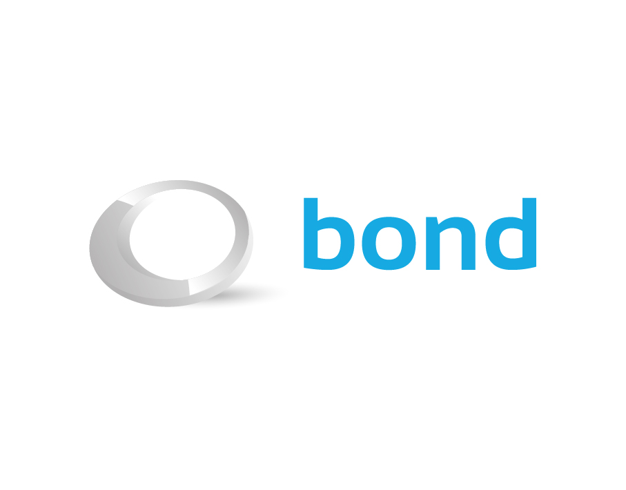 Bond Logo – Asymmetric Grey Circle